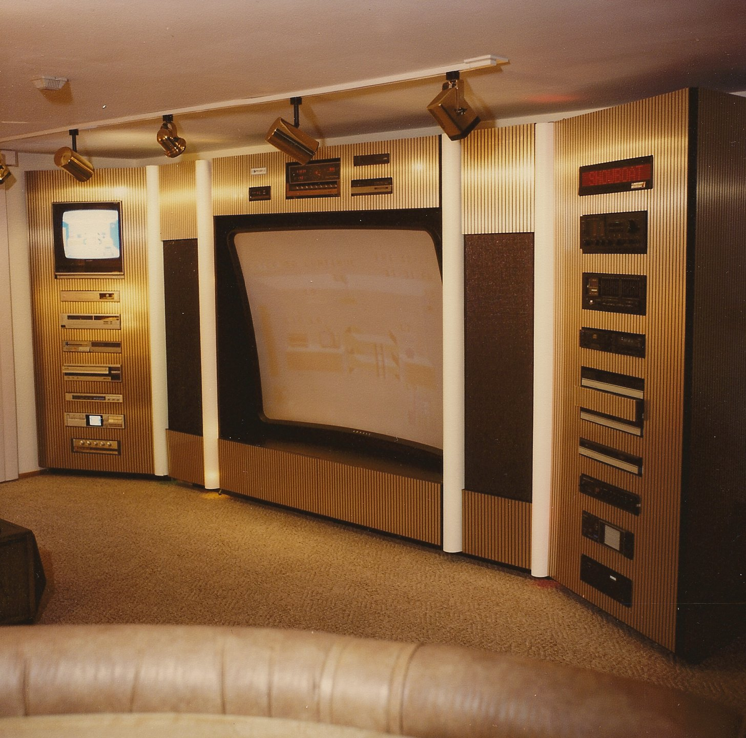 Interior Design Ideas For Home Theater: Installation